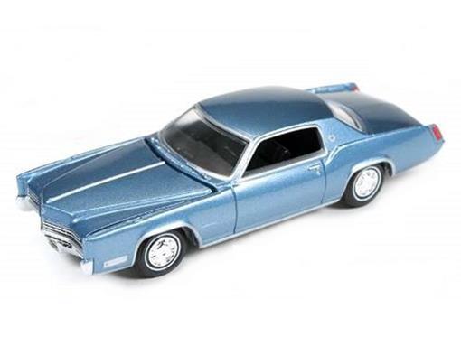 Cadillac: Eldorado (1967) - Azul Metálico - Luxury Cruisers - 1:64