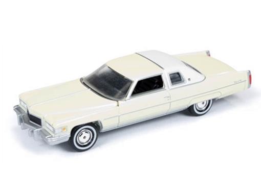 Cadillac: Coupe DeVille (1976) - Creme - Land Yachts - 1:64