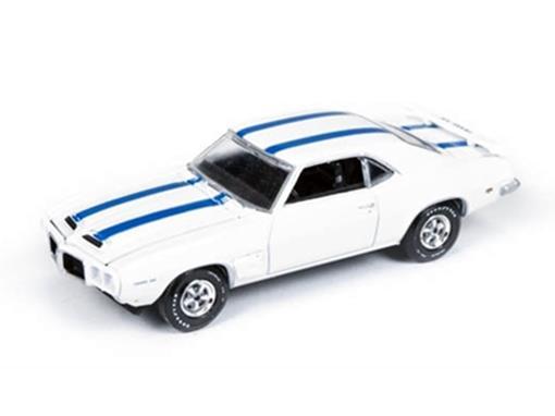 Pontiac: Firebird Trans Am (1969) - Branco - Vintage Muscle - 1:64