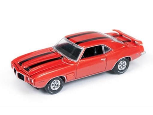Pontiac: Firebird Trans Am (1969) - Vermelho - Vintage Muscle - 1:64
