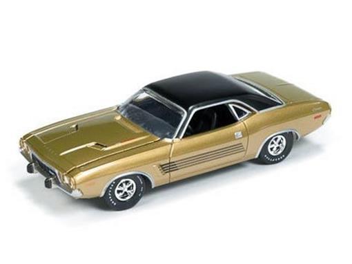Dodge: Challenger Rallye (1973) - Dourado - Vintage Muscle - 1:64