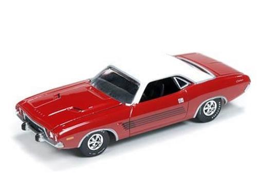 Dodge: Challenger Rallye (1973) - Vermelho - Vintage Muscle - 1:64