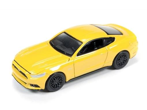 Ford: Mustang GT (2015) - Amarelo - Luxury Cruisers - 1:64