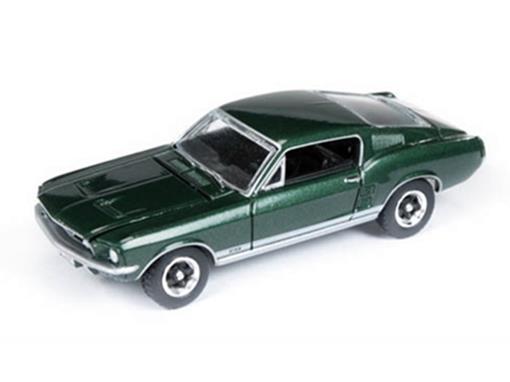 Ford: Mustang GT (1967) - Verde - Vintage Muscle - 1:64