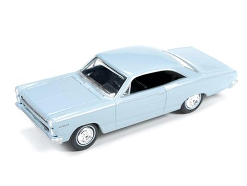 Ford: Mercury Comet Calient (1966) - Azul - Vintage Muscle - 1:64