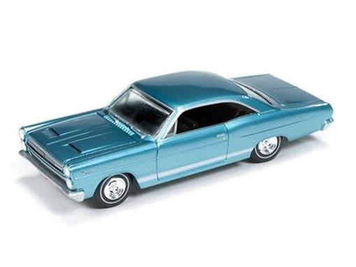 Ford: Mercury Comet Cyclone (1966) - Turquesa - Vintage Muscle - 1:64