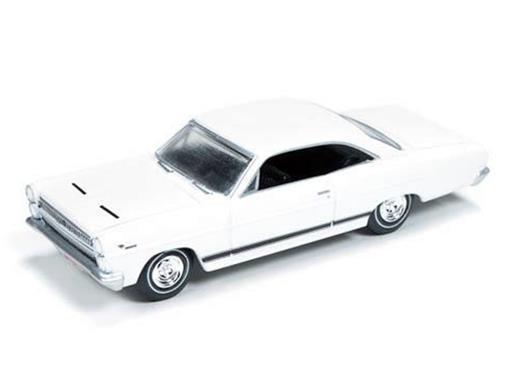 Ford: Mercury Comet Cyclone (1966) - Branco - Vintage Muscle - 1:64