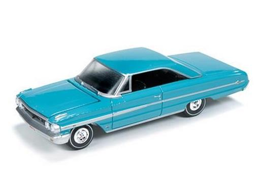 Ford: Galaxie 500XL (1964) - Turquesa - Vintage Muscle - 1:64