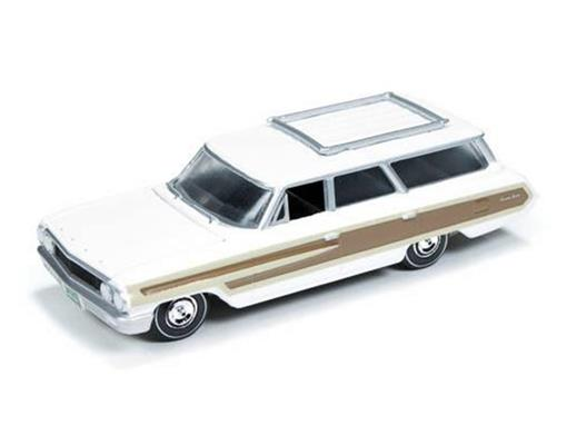 Ford: Country Squire (1964) - Branco - Muscle Wagons - 1:64
