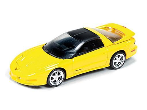 Pontiac: Firebird T/A (1993) - Amarelo - 1:64