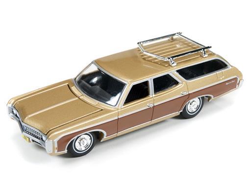 Chevrolet: Kingswood Estate (1969) - Dourado - Muscle Wagons - 1:64