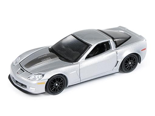 Chevrolet: Callaway Corvette (2011) - Prata - Road e Track - 1:64