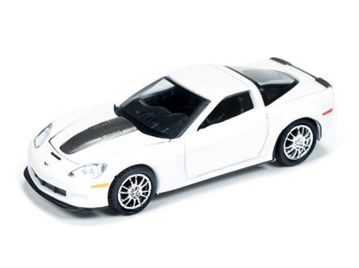 Chevrolet: Callaway Corvette (2011) - Branco - Top Gear BBC - 1:64