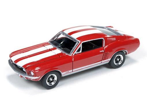 Ford: Mustang GT (1967) - Vermelho - Top Gear BBC - 1:64