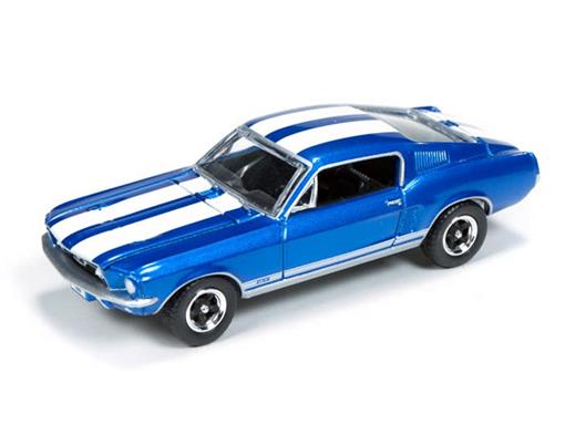 Ford: Mustang GT (1967) - Azul - Top Gear BBC - 1:64