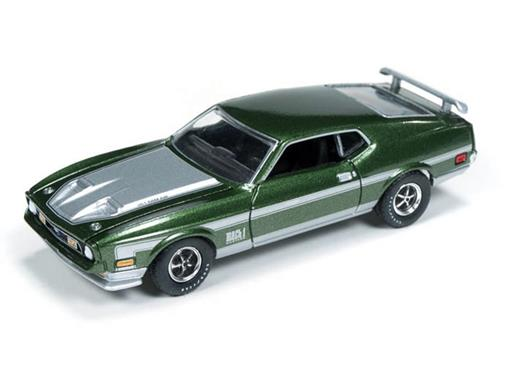 Ford: Mustang Mach 1 (1971) - Verde Metálico - Top Gear BBC - 1:64
