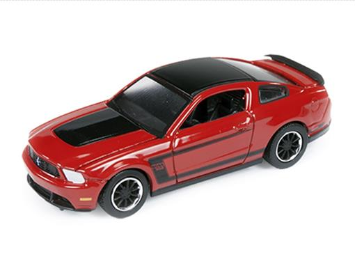 Ford: Mustang Boss 302 (2012) - Vermelho - Car and Driver - 1:64