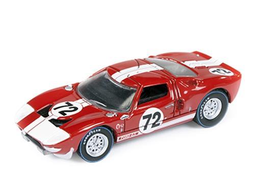Ford: GT40 #72 (1965) - Vermelho - Car and Driver - 1:64