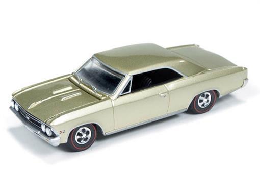Chevrolet: Chevelle SS 396 (1966) - Dourado - Car and Driver - 1:64