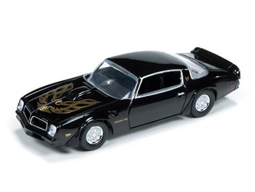 Pontiac: Firebird T/A (1976) - Preto - Car and Driver - 1:64