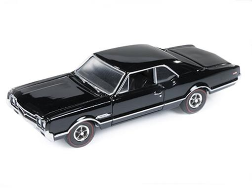 Oldsmobile: 4-4-2 (1966) - Preto - Car and Driver - 1:64