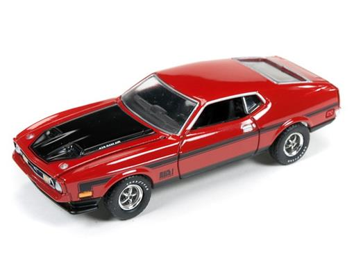 Ford: Mustang Mach 1 (1971) - Vermelho - Muscle Machines - 1:64