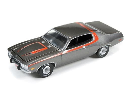 Plymouth: Road Runner (1973) - Grafite - Muscle Machines - 1:64