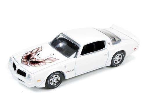 Pontiac: Firebird T/A (1976) - Branco - Muscle Machines - 1:64