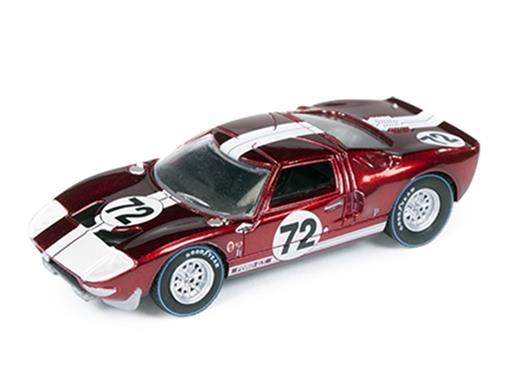 Ford: GT40 #72 (1965) - Vermelho Metálico - Car and Driver - 1:64