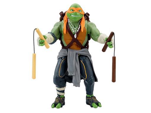 Boneco Michelangelo - Tartarugas Ninja O Filme - Action Figure - MultiKids 28cm
