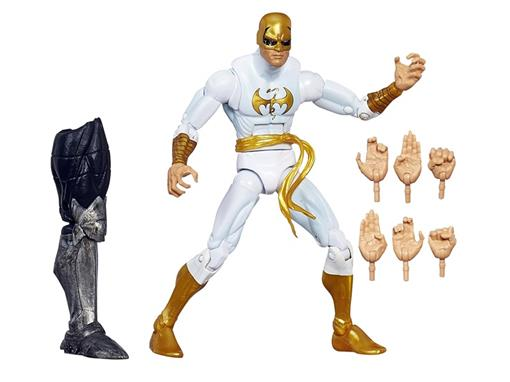 Boneco Iron Fist - Build a Figure The Allfather - Marvel Legends - Hasbro