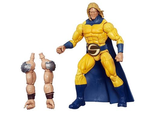 Boneco Avenging Aliies Marvel's Sentry - Build a Figure The Allfather - Marvel Legends - Hasbro