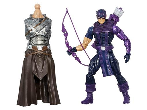 Boneco Marvel's Hawkeye - Avengers - Build a Figure The Allfather - Marvel Legends - Hasbro