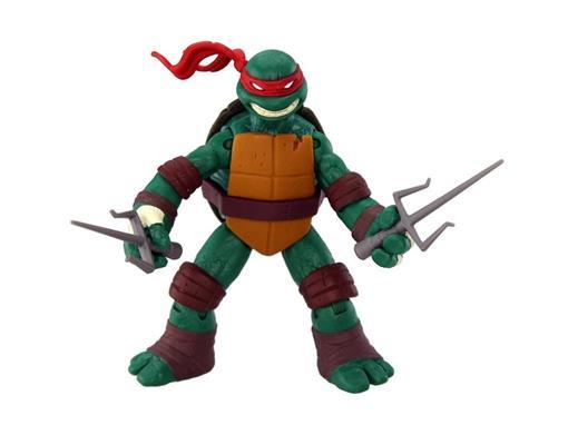 Boneco Raphael - Tartarugas Ninja - Nickelodeon - Figura de Ação II - MultiKids 12cm