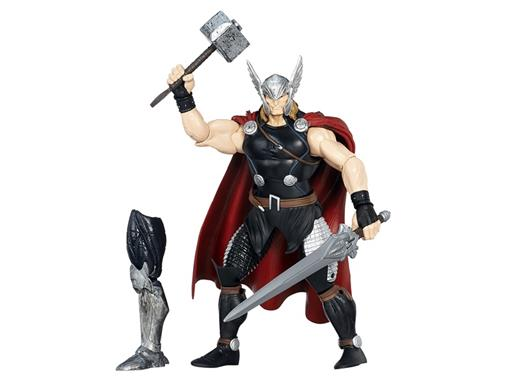 Boneco Thor - Avengers - Build a Figure The Allfather - Marvel Legends - Hasbro