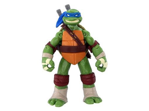 Boneco Leonardo - Tartarugas Ninja - Nickelodeon - Figura de Ação II - MultiKids 12cm