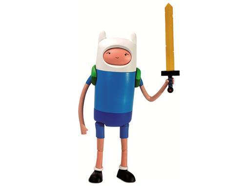 Boneco Finn Deluxe - Adventure Time (A Hora da Aventura) - Multikids