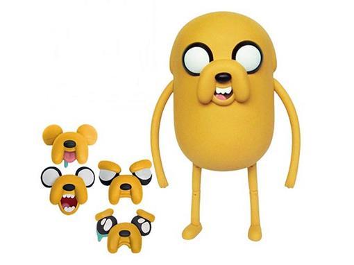 Boneco Jake Deluxe - Adventure Time (A Hora da Aventura) - Multikids