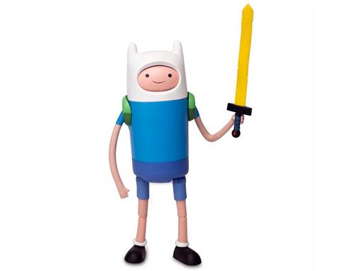 Boneco Finn Deluxe - Adventure Time (A Hora da Aventura) - Multikids - 10cm