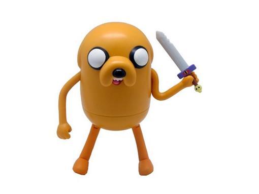 Boneco Jake Deluxe - Adventure Time (A Hora da Aventura) - Multikids - 10cm