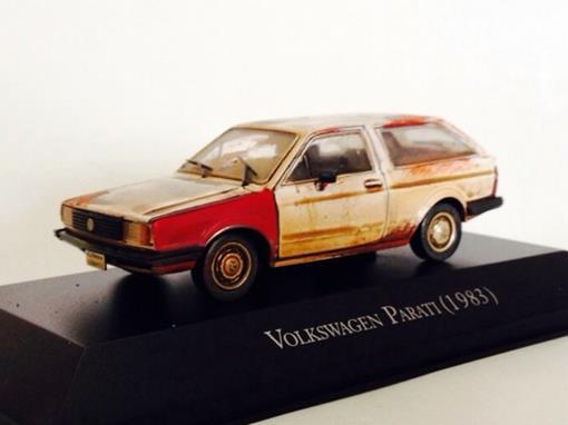 Volkswagen: Parati (1983) - Customizado e Envelhecido - 1:43