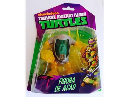 Boneco Homem Mutagênico - Tartarugas Ninja - Nickelodeon - Figura de Ação - MultiKids 12cm