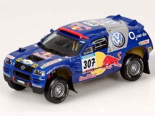 Volkswagen: Race Touareg - Rallye Dakar - Red Bull 307 (2005) - 1:43