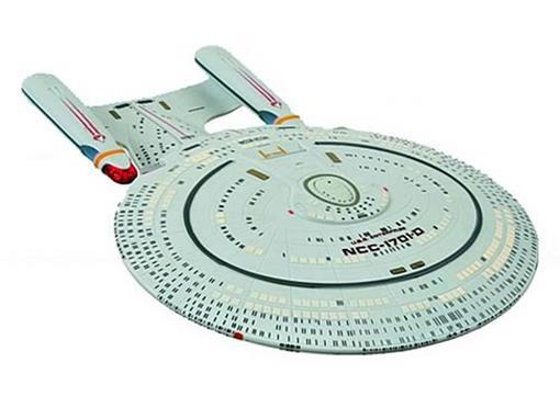 Star Trek: USS Enterprise NCC-1701-D - Electronic Starship - Diamond