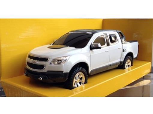 Chevrolet: S10 Rally - Branco - Controle Remoto - 1:18