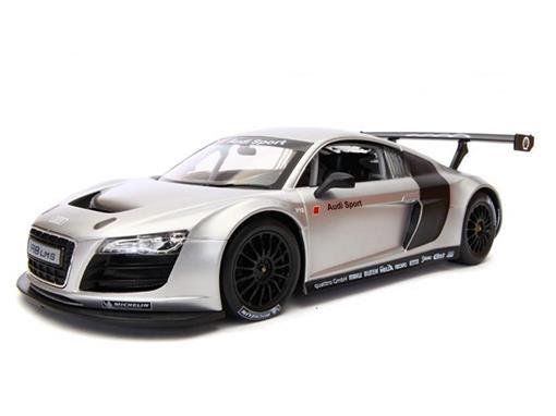 Audi: R8 LMS - Prata - Controle Remoto - 1:14
