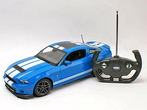 Ford: Shelby GT500 - Azul - Controle Remoto - 1:14
