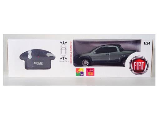 Fiat: Strada Adventure - Verde - Controle Remoto - 1:24