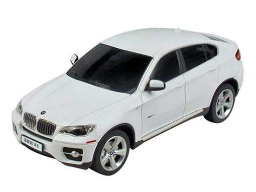 BMW: X6 - Branca - Controle Remoto - 1:24