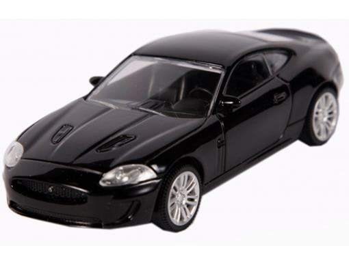 Jaguar: XKR - Preto - 1:43
